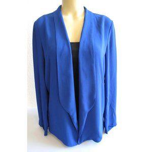 LUSH Royal Blue Chiffon Jacket